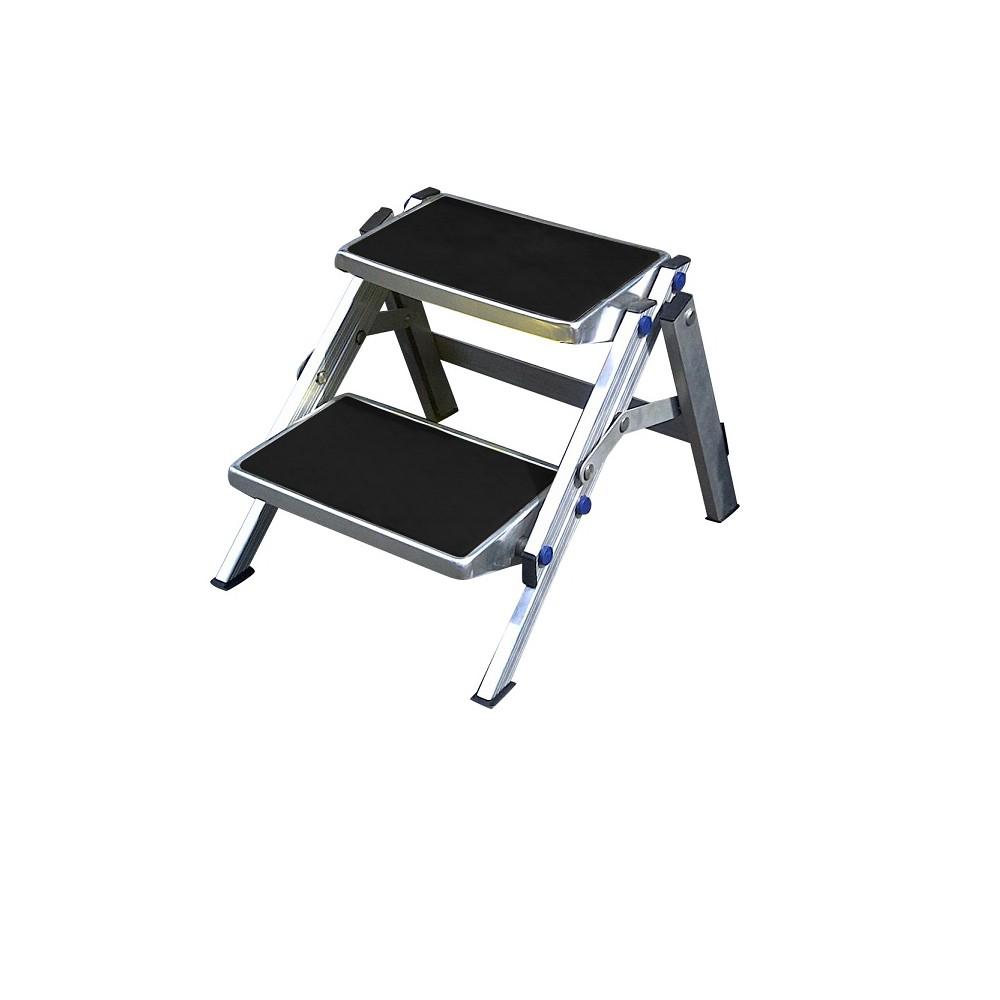 Super Aluminium 2 Stage Folding Step Inzonedesignstudio Interior Chair Design Inzonedesignstudiocom