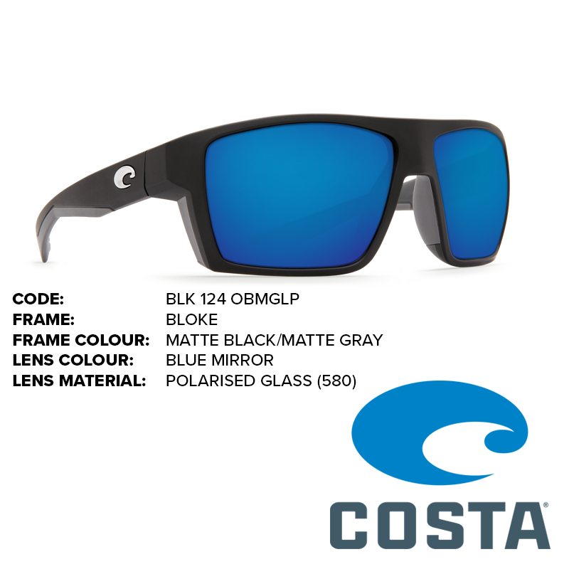 4ecf7fea01a Costa Bloke Glass Lens Sunglasses - Outback Adventures Camping Stores