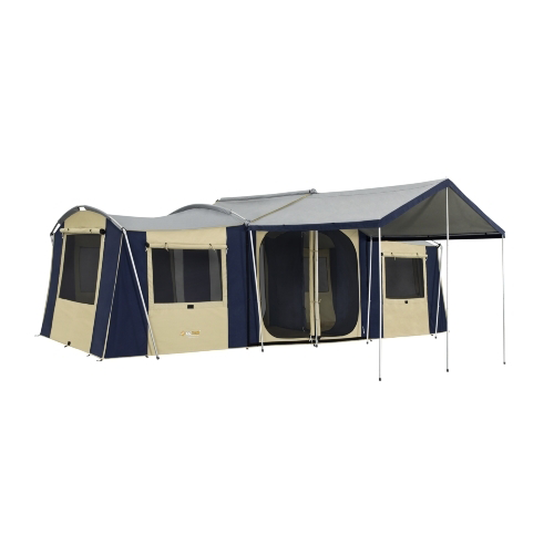 Camping Australia Store: OZtrail Chateau 10 Canvas Tent