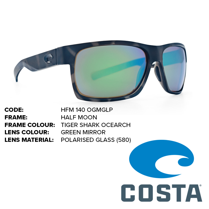 115d90c6fe Costa Ocearch Half Moon Glass Lens Sunglasses - Outback Adventures ...