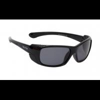 2708455ce62 Ugly Fish PK477 Shiny Black Frame Smoke Lens Brats Unbreakable Polarised  Sunglasses