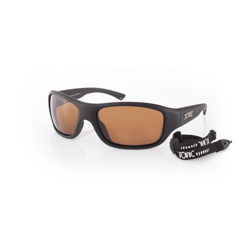 fb5c19b4f893 Tonic Sunglasses – Evo – Matt Black Frame with Polycarbonate Copper Lens
