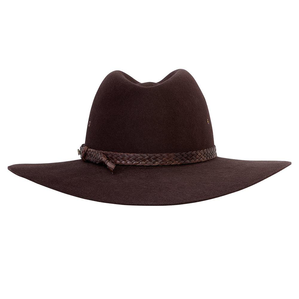 303fa2ed88a Akubra Riverina Hat - Loden - Outback Adventures Camping Stores