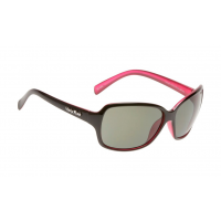 aebd08b9c34 Ugly Fish Twilight PC3774 Shiny Black Pink Frame Smoke Lens Polarised  Sunglasses