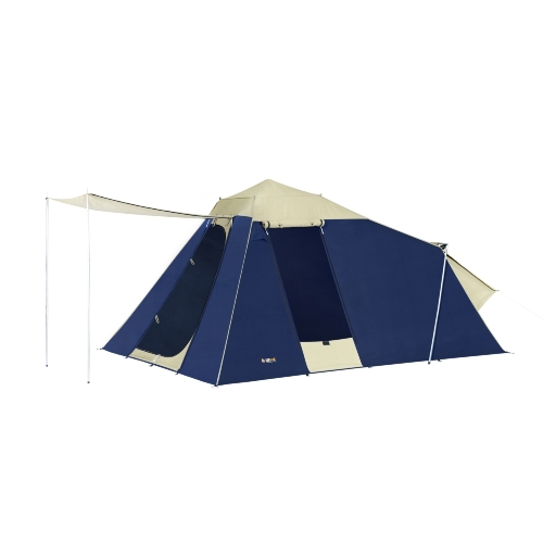 OZtrail Tourer 10 Plus Canvas Tent  sc 1 st  Outback Adventures C&ing Stores & OZtrail Tourer 10 Plus Canvas Tent - Outback Adventures Camping ...