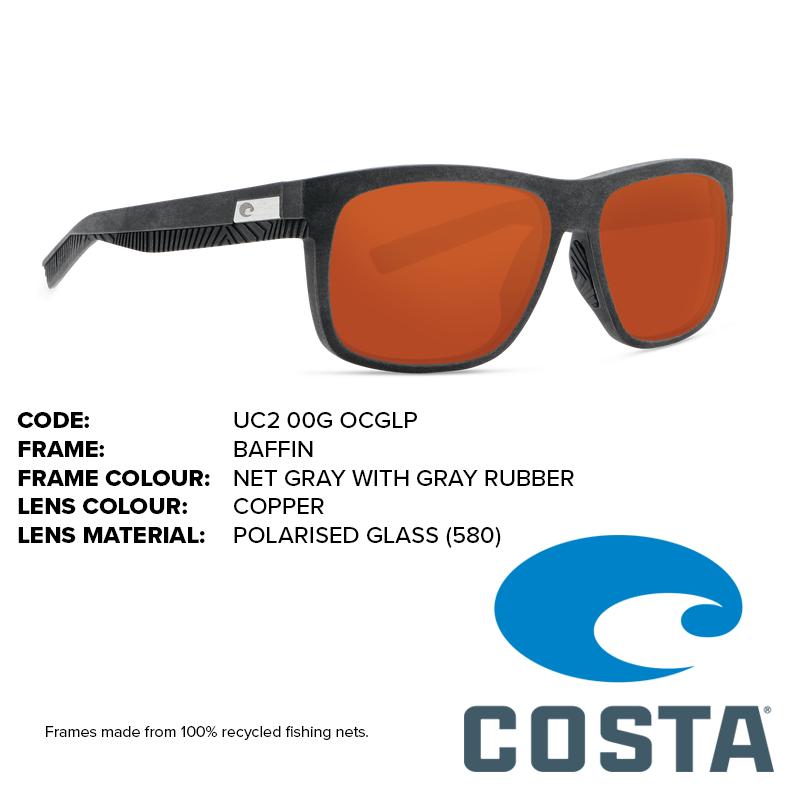 62aef1e424bb Home / Sunglasses / Costa / Baffin / Costa Untangled Baffin Glass Lens  Sunglasses