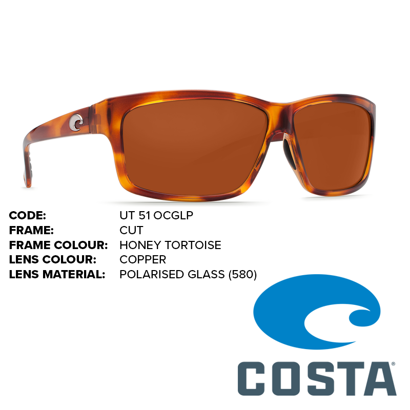 f2735ccb63d Costa Cut Glass Lens Sunglasses - Outback Adventures Camping Stores
