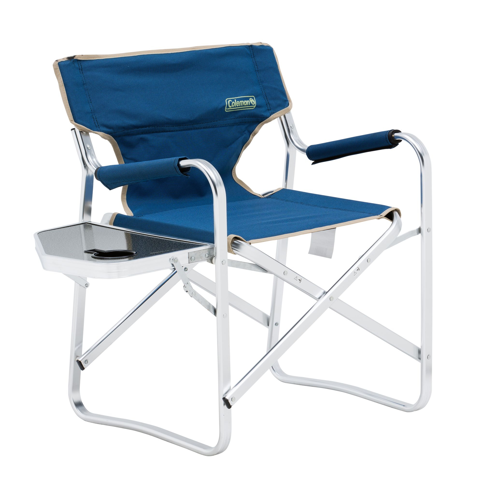Coleman Directors Chair Plus With Side Table Outback